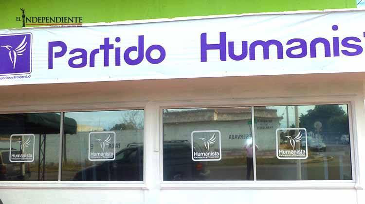 Total hermetismo en el Partido Humanista mientras sus oficinas han desaparecido