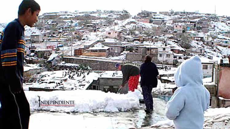 Aplican Plan DN-III por nevadas en Sonora