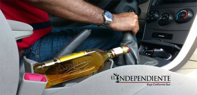 Aumentan hasta 30% los accidentes viales por consumo de alcohol