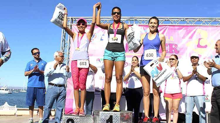 708 competidores registró la 2da. Edición de la Carrera Atlética de la Mujer