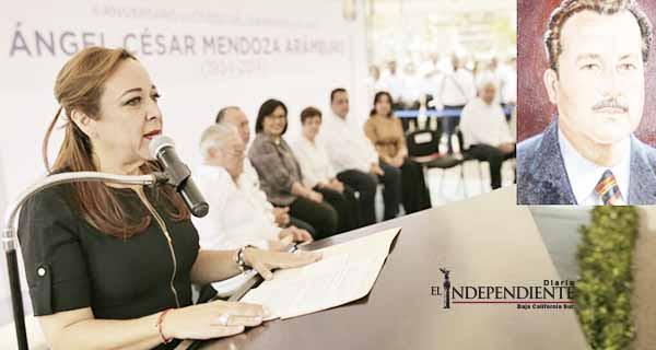 Con honores recordaron al ex gobernador Ángel César Mendoza