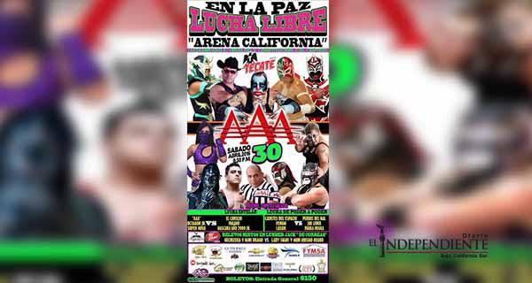 Con Lucha Libre AAA festejarán el día del Niño en La Paz