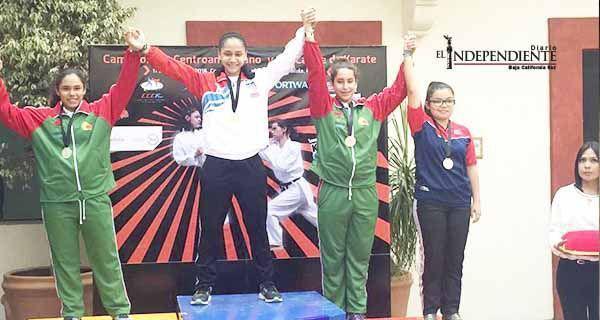 BCS aporto a la selección mexicana de karate 9 medallas 1 de Oro, 5 de Plata y 3 de Bronce en el Campeonato Centroamericano y del Caribe de Karate Do (1)