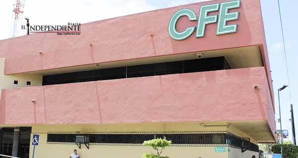 Ayuntamientos de BCS adeudan más de 91 mdp a CFE