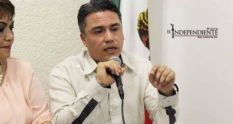 Culpa Joel Vargas a Marco Covarrubias y Narciso Agúndez del problema de inseguridad en BCS