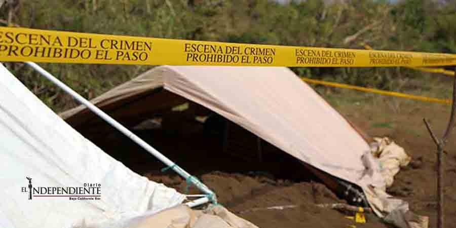 'La alberca', la fosa más grande hallada en predio de Veracruz