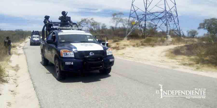 Hallan torsos humanos en una brecha en Los Cabos