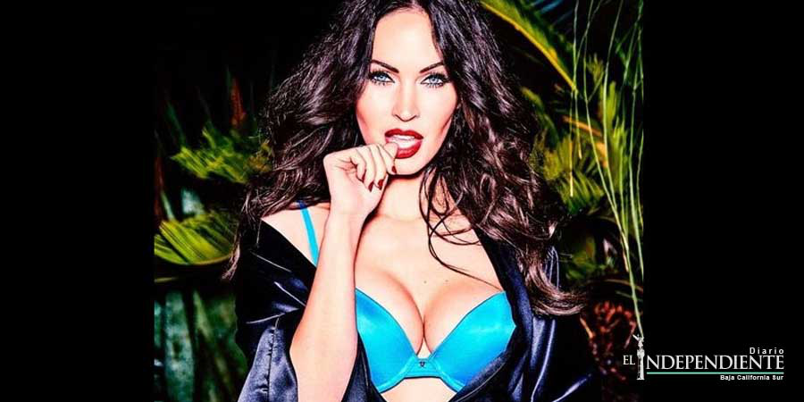 Megan Fox muestra lencería al estilo 'dominatrix'