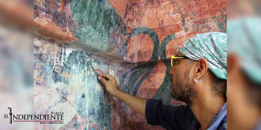 Devuelven esplendor a murales de Bonampak
