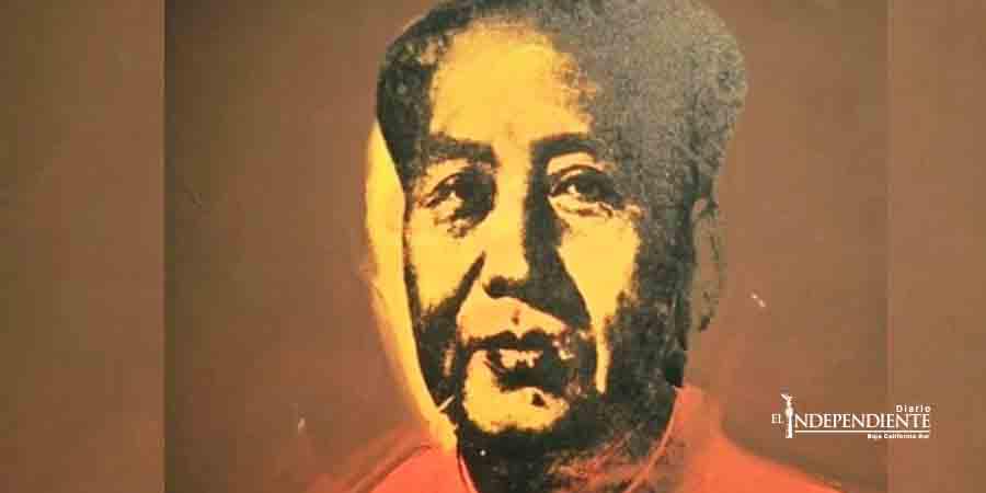 Subastan retrato de 'Mao', de Andy Warhol en más de 12 mdd