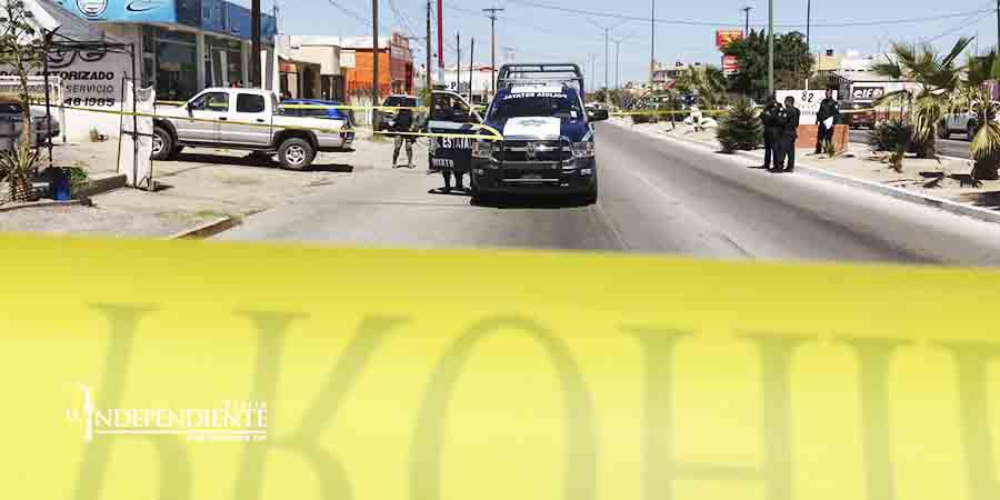 Reportan 2 lesionados tras balacera en La Paz