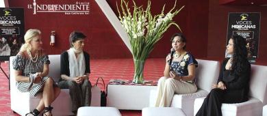Ofelia Medina comprometida con las mujeres de Los Cabos