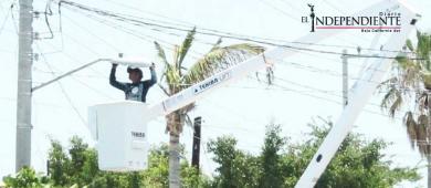 Notificarán a PGR si Ayuntamiento de La Paz no entrega alumbrado público