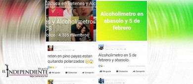 Condena Transporte y Vialidad, proliferación de grupos advirtiendo de alcoholímetros en La Paz