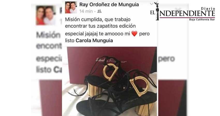 Delegado de la SEP presume zapatillas de 17 mil pesos