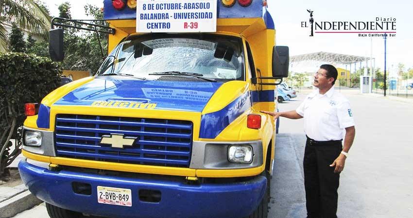 MFT División Transportes será quien realice estudio de transporte público en La Paz