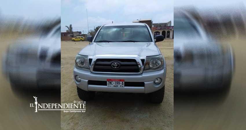 Localizan vehículo con reporte de robo en Cabo San Lucas