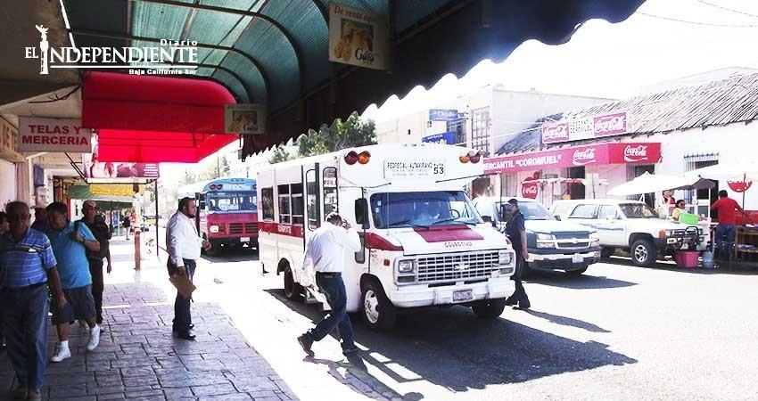 """Eligió Ayuntamiento de La Paz """"economizar"""" con estudio al transporte"""
