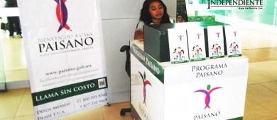 """Inicia en BCS el programa """"Bienvenido Paisano"""""""