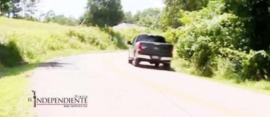 Niños de cinco y dos años 'roban' auto para visitar a su abuelo