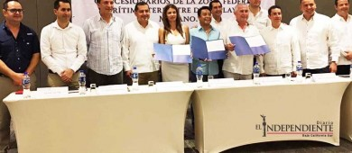 Entrega Semarnat títulos de concesión para El Médano