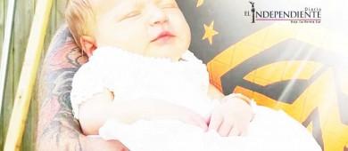 Muere bebé al ser contagiada de meningitis por un beso