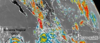 """Tormenta Tropical """"Greg"""" continúa alejándose de las costas mexicanas"""