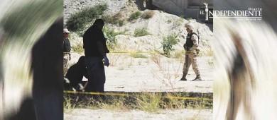 Hallan dos cuerpos enterrados y quemados en el arroyo El Tule