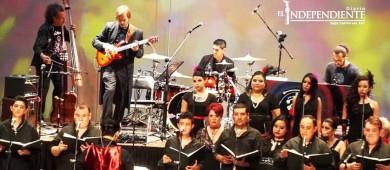 Coro Polifónico celebró su sexto aniversario con un homenaje a la madre tierra