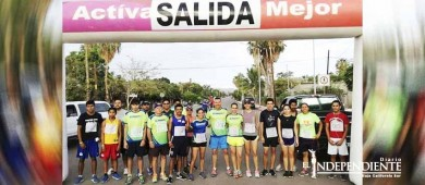 Runners presente en la carrera recreativa en Loreto