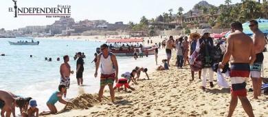 Reportan llenos totales en  playa El Médano