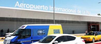 Invierten 45 MDP en mejoras del Aeropuerto Internacional de La Paz