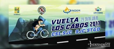 """Invitan a participar en la carrera de ciclismo """"Vuelta Los Cabos 2017"""