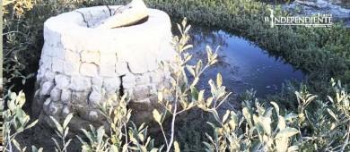 Denuncian derrame de aguas negras en estero de La Paz