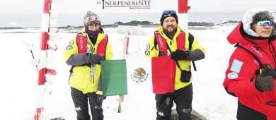 Rodrigo Rocha, primer Sudcaliforniano guía turístico en La Antártida