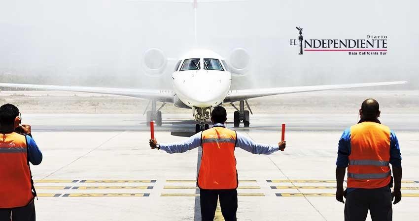 Abren nueva ruta aérea La Paz - Monterrey