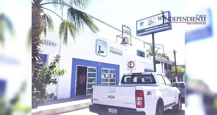 """Prácticamente """"incobrable"""" cartera vencida de 60 MDP del OOMSAPAS La Paz"""
