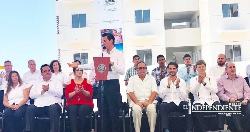 Compromete gobierno federal más acciones y obras en favor de Baja California Sur