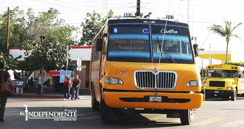 Dirección de Movilidad y Seguridad revisa unidades del transporte público
