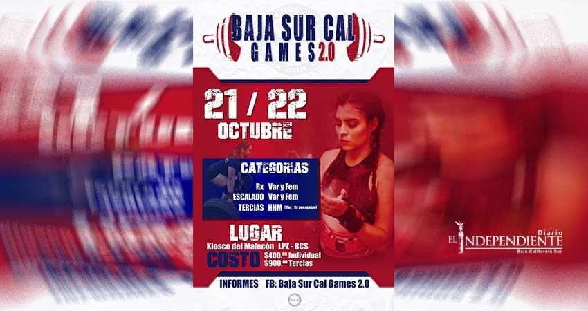 Invitan a la segunda edición de Baja Sur Cal Games