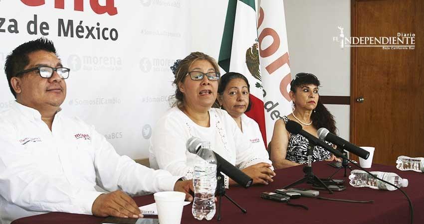 Niegan acercamiento de la diputada Rosa Delia Cota a Morena
