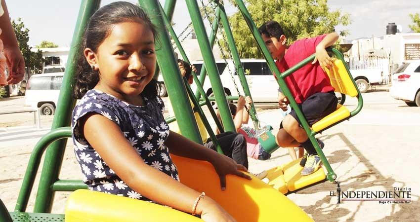 Ayuntamiento de La Paz pone en funcionamiento 17 parques públicos