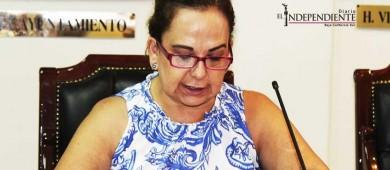 Espero poder recontratar a mi ex asesor, asegura regidora Díaz Guzmán