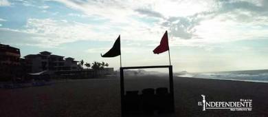 """Con restricción preventiva playas de Los Cabos durante el fin de semana por TT """"Jova"""""""