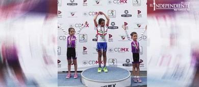 Oro y Bronce en el Nacional de Ciclismo