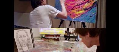 Jim Carrey se refugia en la pintura tras ruptura con 'playmate'