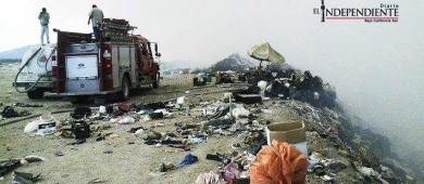 A punto del colapso tiraderos de basura del municipio reconoce ayuntamiento