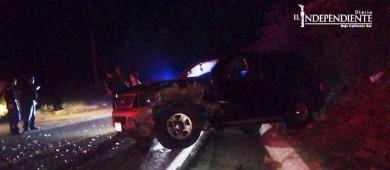 Encontronazo en el tramo SJC-Miraflores deja cinco lesionados