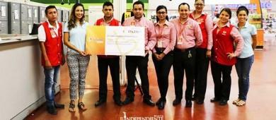 Recauda LCCF más de 100 mil pesos del programa de redondeo