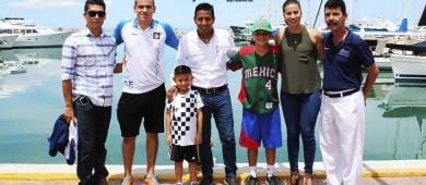 Se reúne el titular del INDET BCS, Eduardo Valdez con delegados de equipos clasificados a los Juegos Nacionales de Oaxtepec